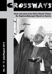 July/August 2013 - Christ Church Vienna, Austria