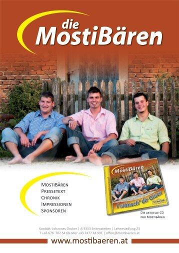 Pressetext - Die Mostibären