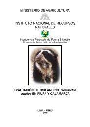 ministerio de agricultura instituto nacional de recursos naturales