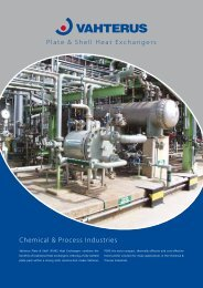 Chemical & Process Industries - Vahterus
