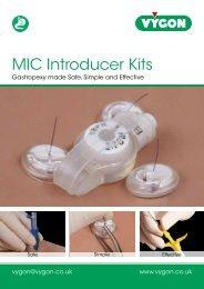 MIC Introducer Kit - Vygon (UK)
