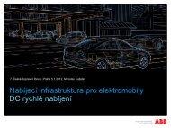 Nabíjecí infrastruktura pro elektromobily DC rychlé ... - TOP EXPO CZ
