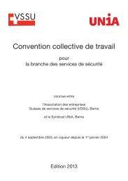 Convention collective de travail - VSSU