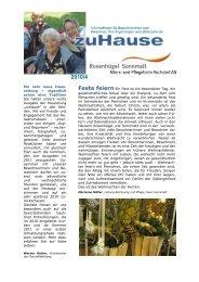 Ein Jahr neue Haus - und Pflegeheim Hochdorf AG