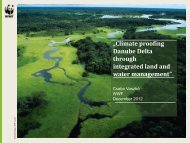 Climate proofing Danube Delta through integrated land and water ...