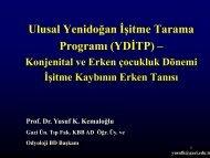 6. Ulusal Yenidoğan İşitme Tarama Programı