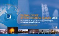 GlObAl CITIEs' ATTrACTIvENEss survEy 2008 - Greater Paris