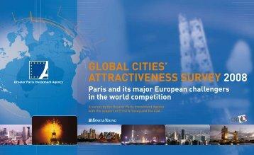 GlObAl CITIEs' ATTrACTIvENEss survEy 2008 - Greater Paris