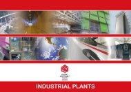 INDUSTRIAL PLANTS - Gruppo Industriale Tosoni