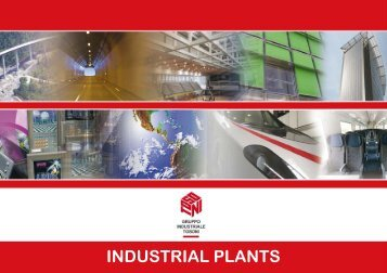 INDUSTRIAL PLANTS - Gruppo Industriale Tosoni