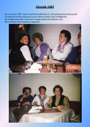 Chronik 1987 - Dorfgemeinschaft Afritz