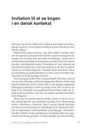 Læs bogens forord her (pdf) - Forlaget Mindspace