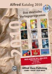 Publishing Verlags GmbH www.alfredverlag.de - bei Session Music