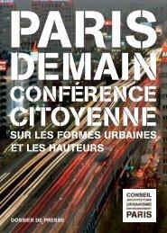 Dossier de presse - (CAUE75) Paris