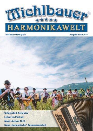 Unterricht & Seminare Lehrer im Portrait Music Austria ... - Michlbauer