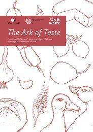 The Ark of Taste - Slow Food USA