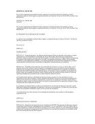 DECRETO No. 1032 DE 1995 Por el cual se reglamenta el ...