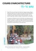 Programme pédagogique 2012-2013 / 13-16 ans - (CAUE75) Paris - Page 3