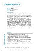 Programme pédagogique 2012-2013 / 13-16 ans - (CAUE75) Paris - Page 5
