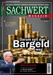 Sachwert Magazin ePaper Nr 32