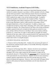 VCCS Satisfactory Academic Progress (SAP) Policy - Dabney S ...