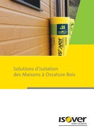 Solutions d'isolation des Maisons à Ossature Bois - Isover