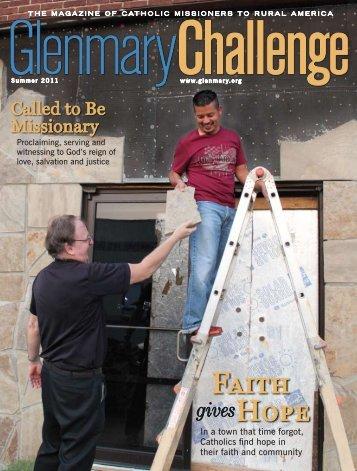 Summer 2011 - Glenmary Challenge