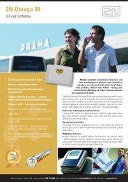 2N Omega 48 - telefony