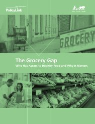 The Grocery Gap: Who Has Access to Healthy - The Food Trust