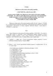 1 VÝNOS Ministerstva zdravotníctva Slovenskej republiky č. 06677 ...