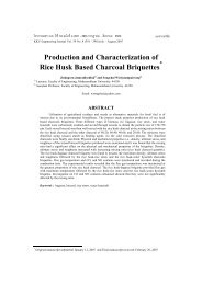 Production and Characterization of Rice Husk Based Charcoal ...