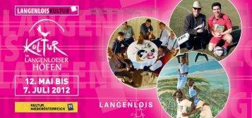 22.September 2012   Langenlois JOSEF WINKLER ANNA ...