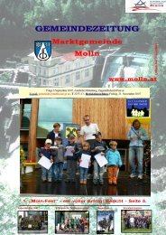 Ausgabe 3/September 2007 (1,39 MB) - Molln