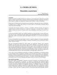 LA TIERRA HÚMEDA Humedales ecuatorianos - Mecanismo de ...