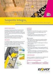 Télécharger : Suspente Integra2 - Isover