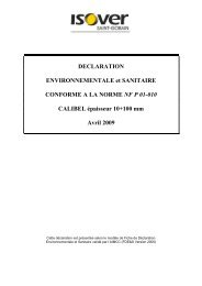 consulter cette documentation - Isover