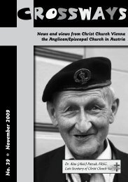 November 2009 - Christ Church Vienna, Austria