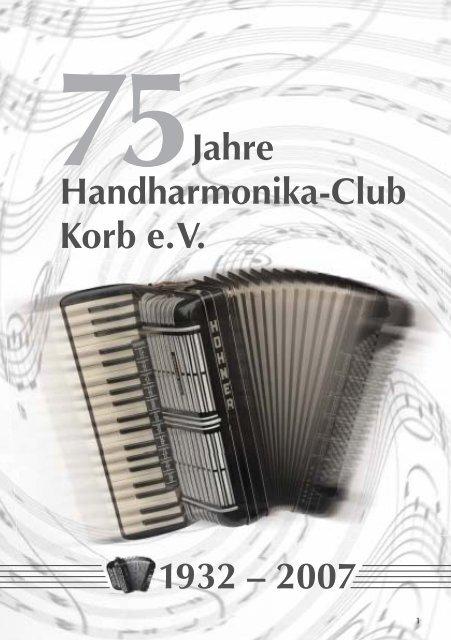 75 1932 – 2007 Jahre Handharmonika-Club Korb e. V. - HHC Korb eV