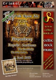 Konzerte und Festivals - celtic rock music