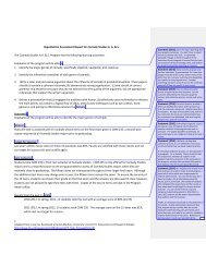 Assessment Report Example