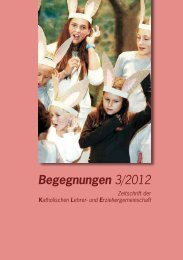 Heft Begegnungen 3/2012 - KA Steiermark