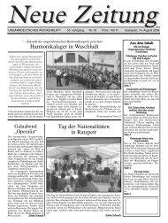 Harmonikalager in Waschludt Tag der Nationalitäten ... - Neue Zeitung
