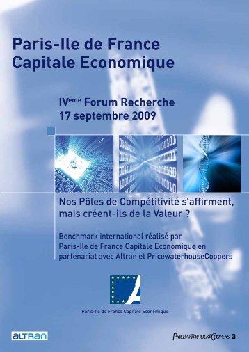 Paris-Ile de France Capitale Economique - Greater Paris