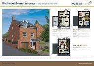 Birchwood Mews, The Alder, 5 Bedroom Detatched Home