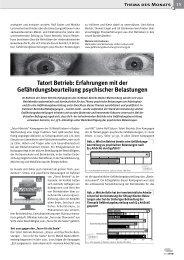 Gute Arbeit, 1 / 2009 - FBU Rolf Satzer