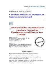 Convención Relativa a los Humedales de Importancia Internacional ...