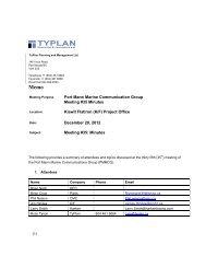 (1) Port Mann Marine Communication Group Meeting #35 Minutes ...