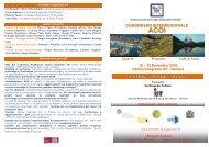 Congresso interregionale ACOI liguria, Piemonte, Valle D'Aosta La ...