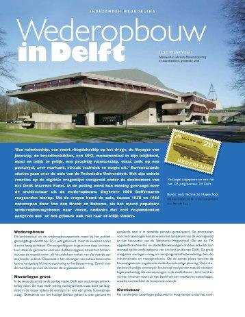 Wederopbouw, in delft - vakbladvitruvius.nl