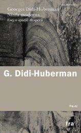 G. Didi-Huberman - Kosmas